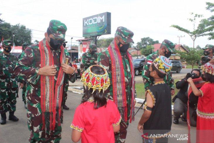 Pangdam VI/Mulawarman lakukan Kunker ke Kodim 0912/Kubar