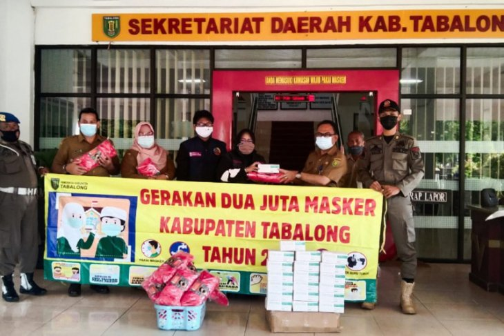 KS2 serahkan 3.000 masker ke Pemkab Tabalong