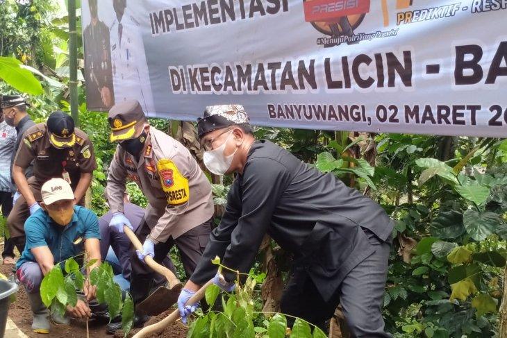 Forkopimda Banyuwangi canangkan penanaman seribu pohon