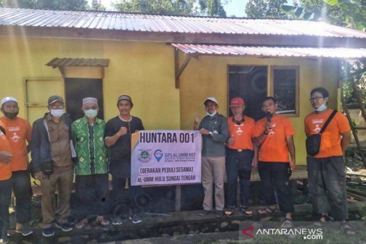 Al Umm HST builds 28 shelters for flood-affected residents
