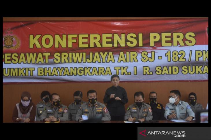 Satu lagi jenazah korban Sriwijaya Air teridentifikasi tim DVI Polri