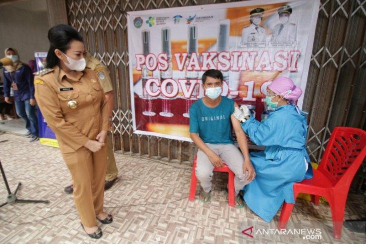 Kabupaten Landak lakukan vaksinasi COVID-19 tahap dua