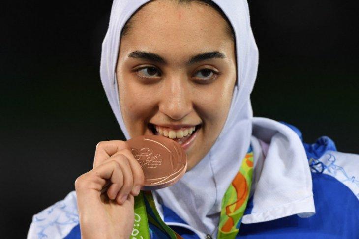 Peraih medali Olimpiade asal Iran berlaga sebagai pengungsi di Tokyo Jepang