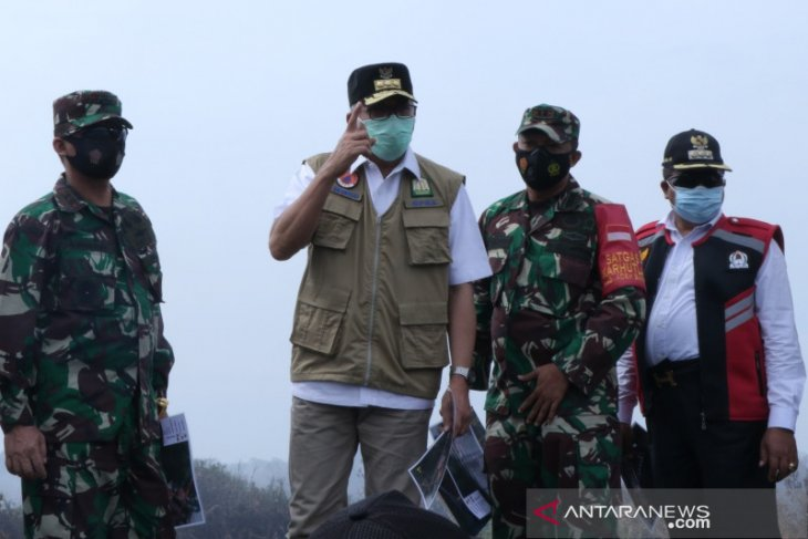 Gubernur: Penanganan Karhutla di Aceh sudah sesuai intruksi Presiden
