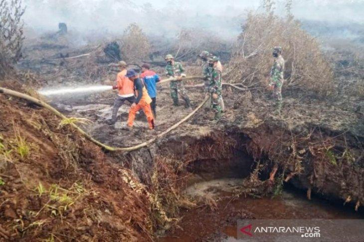 Luas karhutla di Nagan Raya mencapai 17,5 hektare