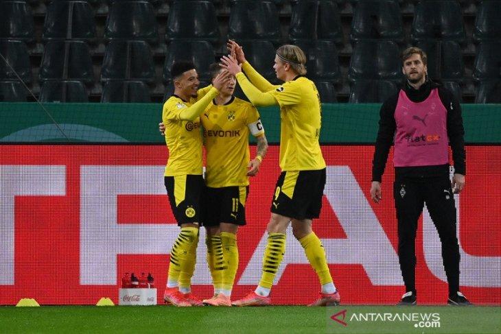 Gol tunggal Sancho bawa Dortmund ke semifinal DFB Pokal