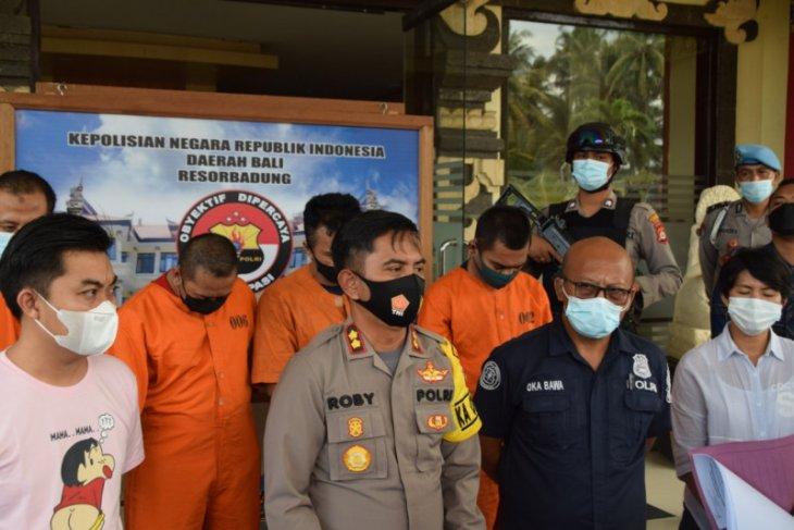Residivis kasus pembunuhan polisi kembali ditangkap Polres Badung