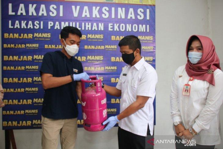 Bupati Banjar dukung program penukaran tabung gas 3 kilogram ke 5,5 kilogram
