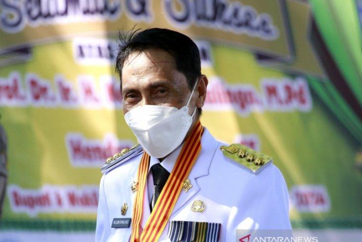 Bupati Gorontalo paparkan perkembangan daerah ke Gubernur