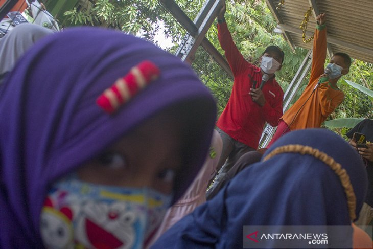Pemulihan trauma anak korban banjir