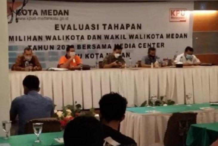 KPU Medan evaluasi pelaksanaan Pilkada 2020