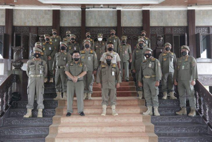 Penjabat Gubernur berharap Satpol PP kedepankan tugas secara humanis