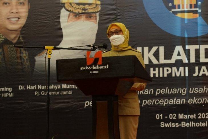 Jambi dorong Dekranasda mempromosikan hasil industri kerajinan serta  jaga hak paten produk