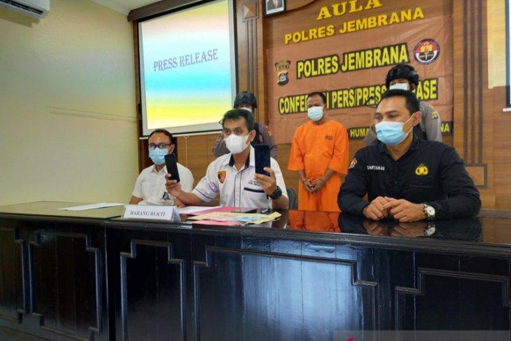 Polres Jembrana tangkap mantan polisi residivis