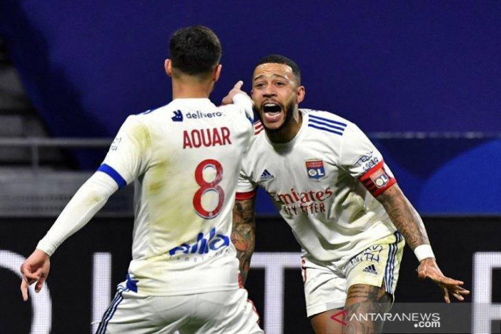 Liga Prancis: Lyon kembali ke jalur kemenangan, Saint-Etienne dibekuk tim promosi
