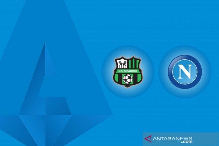 Liga Italia: Napoli diimbangi Sassuolo usai lakoni drama enam gol