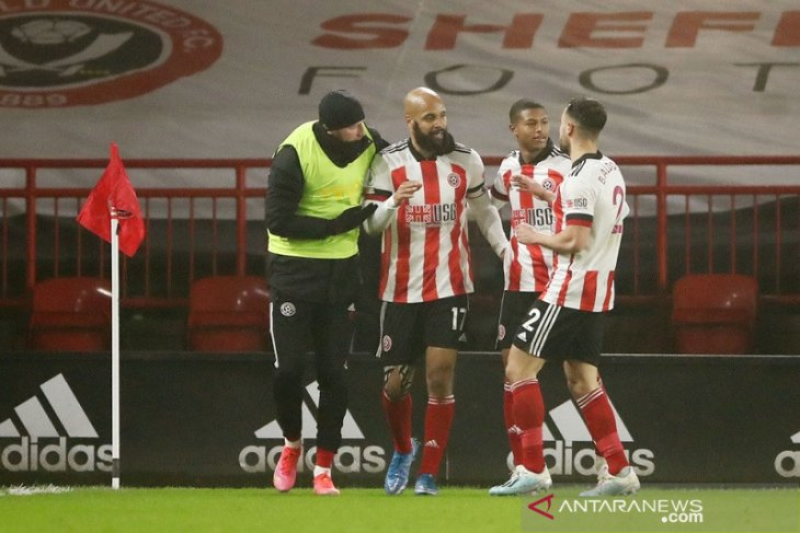 Dengan 10 pemain, Sheffield United hajar Aston Villa 1-0