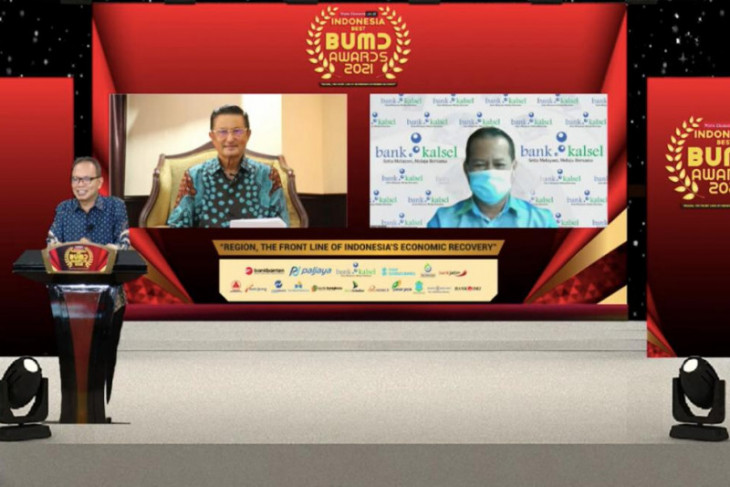 Bank Kalsel raih penghargaan Indonesia Best BUMD Awards 2021