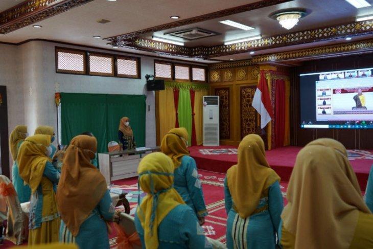 Dyah Erti Idawati dilantik jadi Ketua Dekranasda Aceh. Ini pesan Istri Wapres