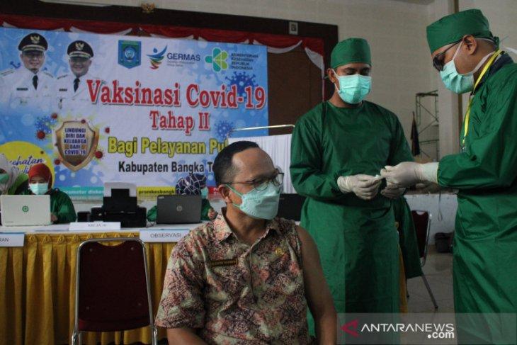 Pemkab Bangka Tengah laksanakan vaksinasi COVID-19 tahap dua