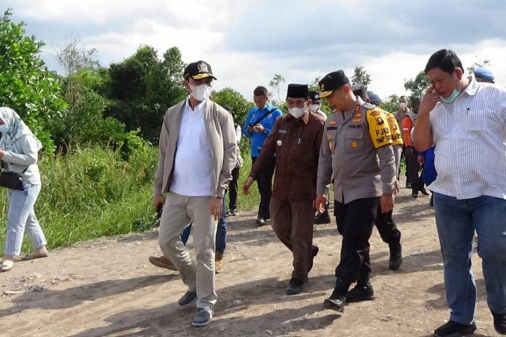 Bersama Kapolda, Ketua DPRD pantau kesiapan tim lapangan pencegahan karhutla
