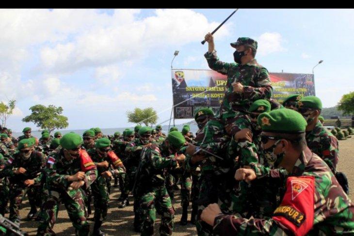Kedatangan pasukan pamtas RI - RDTL