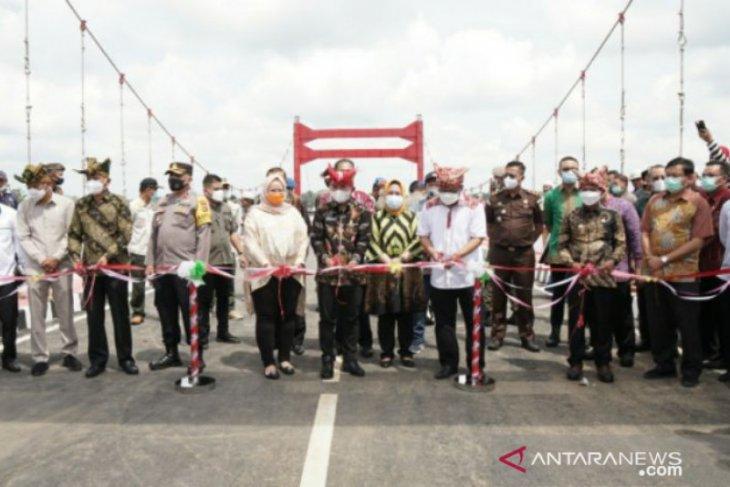 Walikota Pangkalpinang resmikan Jembatan Jerambeh Gantung