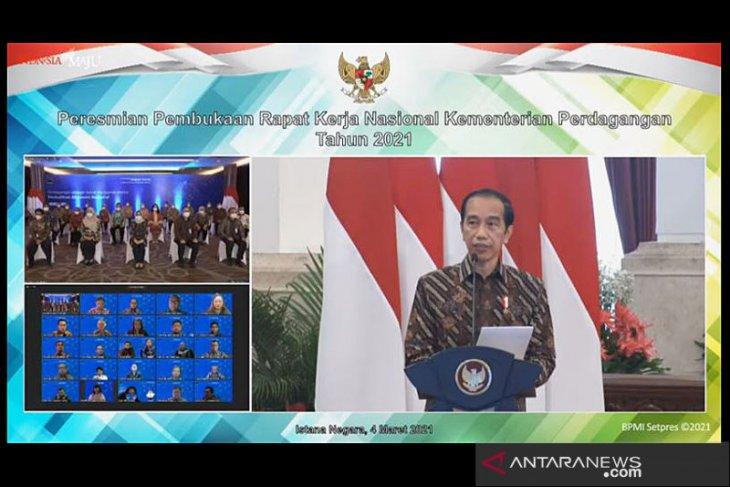 Presiden: Perdagangan digital yang membunuh UMKM harus diperingatkan