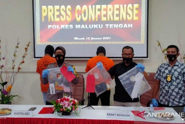 Polres Maluku Tengah limpahkan berkas dua tersangka judi online ke jaksa