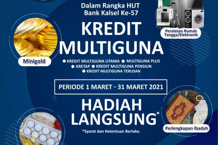 Bank Kalsel selenggarakan gebyar hadiah langsung kredit Multiguna