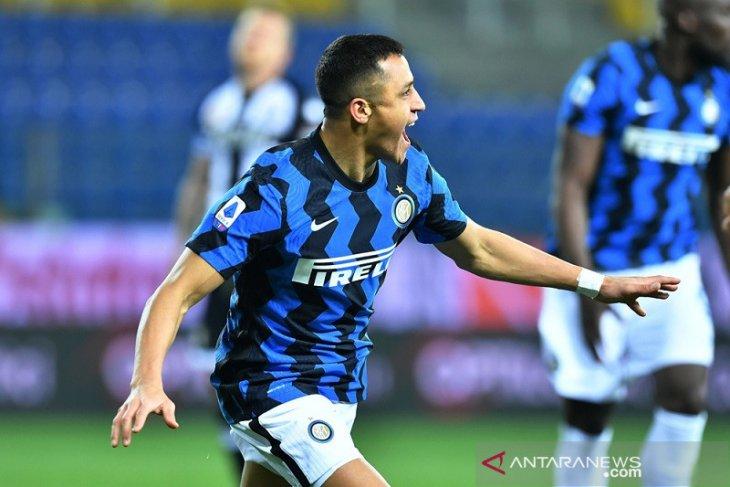 Alexis Sanchez cetak dua gol saat Inter amankan tiga poin atas Parma