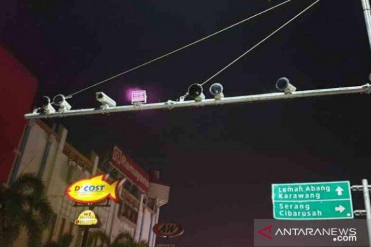 Kabupaten Bekasi pasang 10 kamera pengawas dukung penerapan tilang elektronik (video)