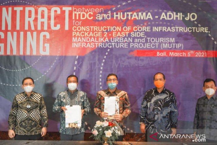 ITDC tanda tangani kontrak pembangunan infrastruktur di Mandalika