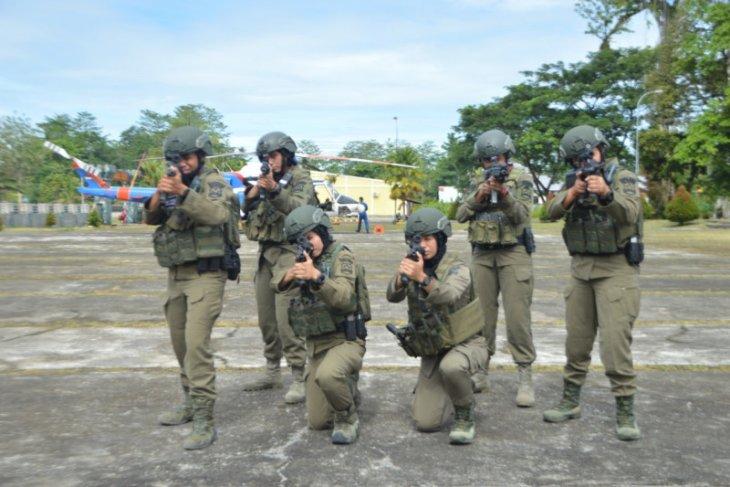 6 Polwan Brimob dikirim perkuat operasi di Papua