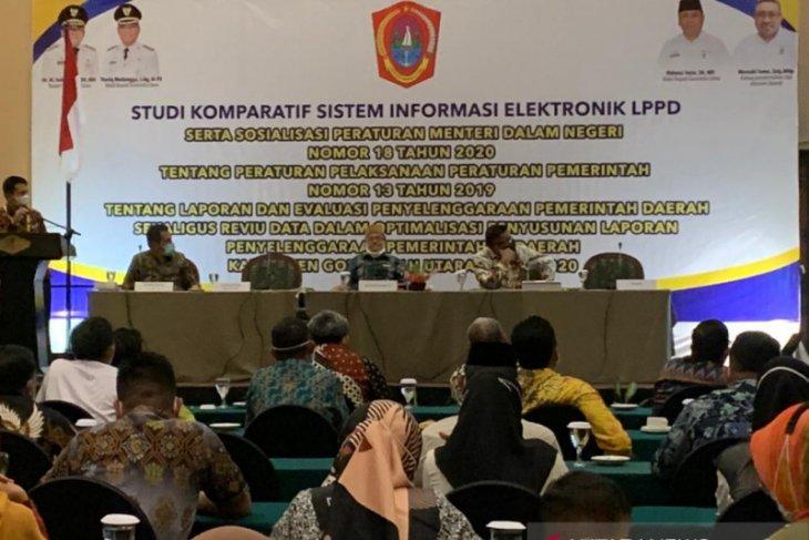 Pemkab Gorontalo Utara latih penyusun LPPD target predikat terbaik