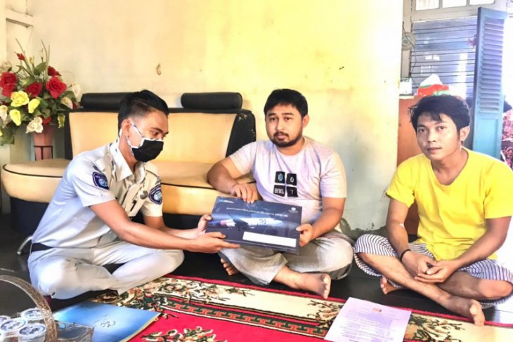 Jasa Raharja Kalbar kembali serahkan santunan ke keluarga korban SJ-182