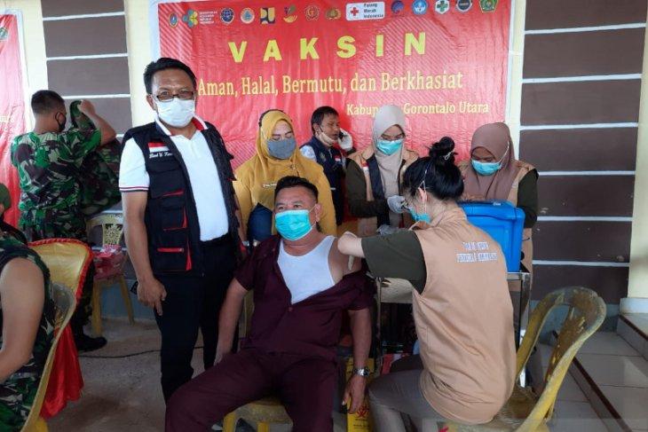 Anggota DPRD Gorontalo Utara mulai divaksinasi COVID-19