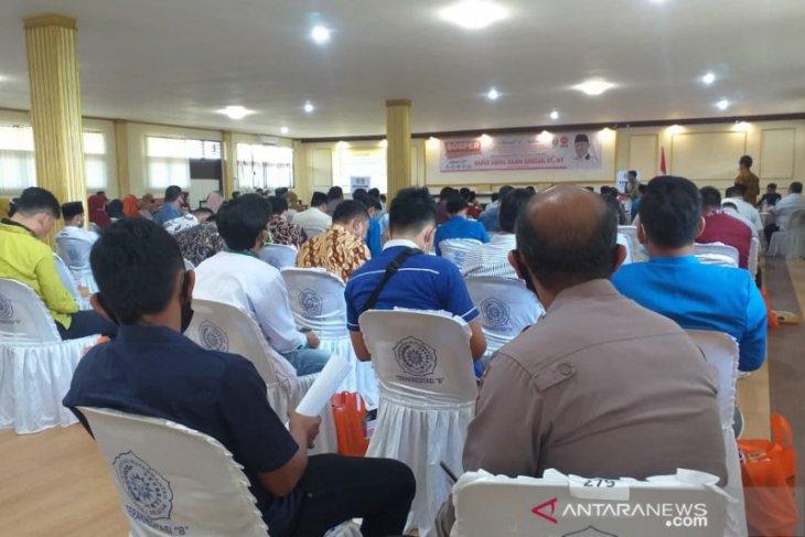 Abdul Rahim Siregar sosialisasi Perda Provinsi nomor 1 tahun 2019 di Padangsidimpuan