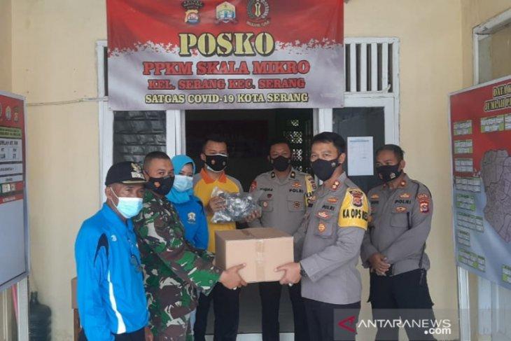 Kapolres apresiasi Posko PPKM amankan Kota Serang dari zona merah