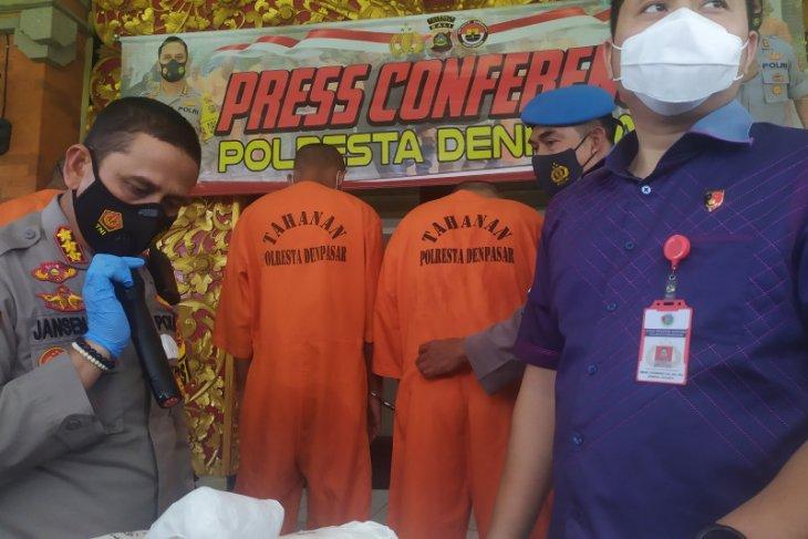 Polresta Denpasar tangkap dua bandar ganja 30 Kg