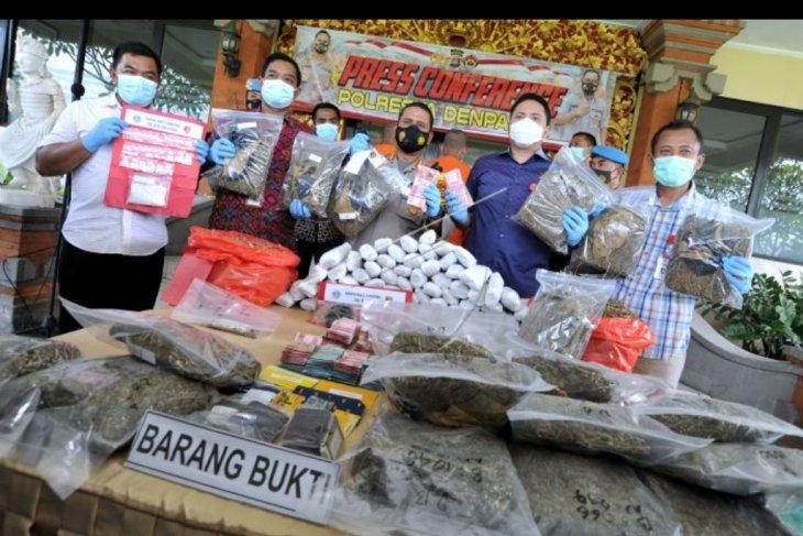 Kasus peredaran narkoba Sumatera-Bali