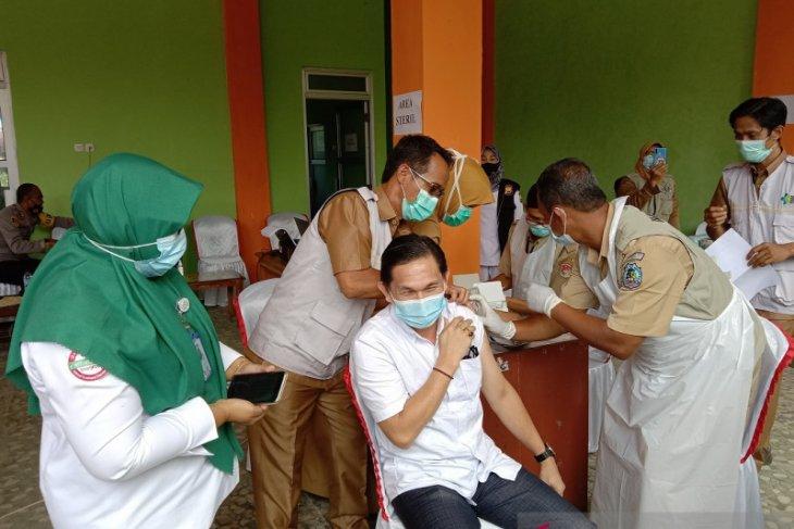 Vaksinasi nakes di Mukomuko capai 63,73 persen
