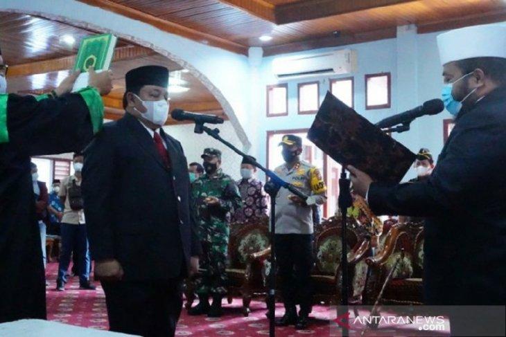 Wali Kota Bengkulu lantik Arif Gunadi jadi Sekda defenitif