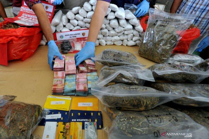 BNN amankan puluhan kg sabu-sabu di Selat Malaka