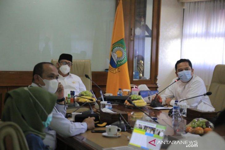 Kota Tangerang masih zona orange, Gubernur Banten temui wali kota