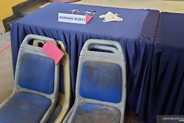 Pelaku pencuri kursi TransJakarta manfaatkan longgarnya pengamanan