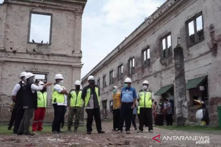 Restorasi Benteng Pendem di Ngawi capai 10 persen