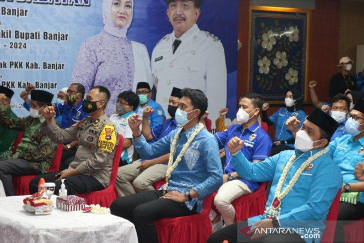 Bupati minta KNPI bersinergi bangun Kabupaten Banjar