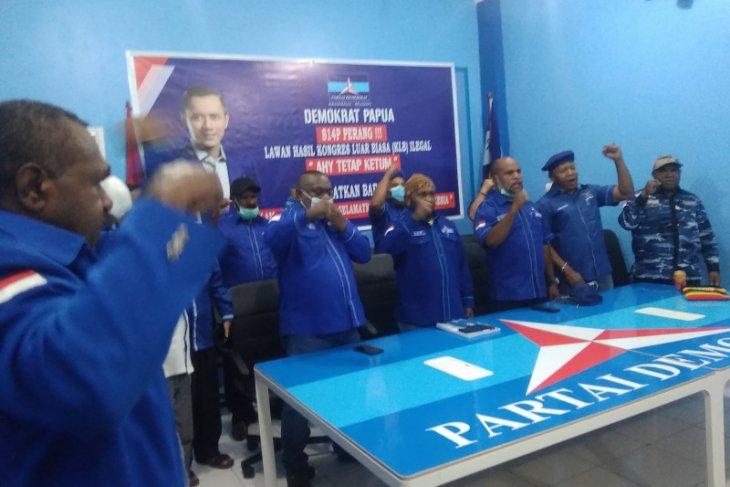 DPD Demokrat  Papua  tolak keputusan hasil KLB inkonsitusional