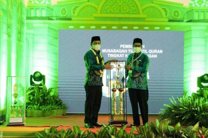 Bupati Abdul Hadi membuka MTQ XIV Kabupaten Balangan